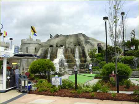 Myrtle Beach miniature golf courses